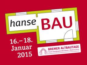 Knapp Historische Baustoffe als Aussteller auf der hanseBAU in Bremen vom 16. bis 18. Januar 2015