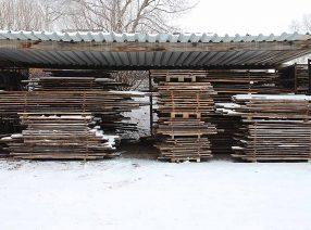 VERKAUFT: Sonderangebot handgestreichelte historische Dachbodenbretter