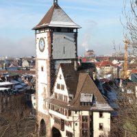 Restaurierung des Schwabetors in Freiburg mit 6 cbm alten Eichenbalken