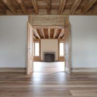 Zimmertüren aus historischem Eichenholz