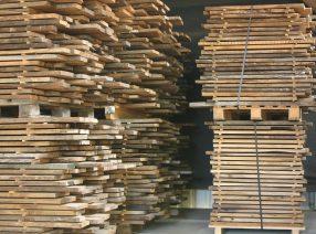 Sonderverkauf Schnittholzbretter historische Eiche, 30 mm stark
