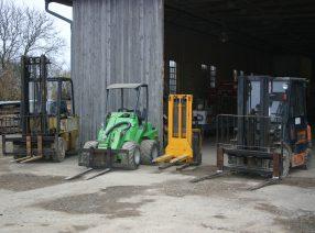 Lagerlogistik und Transport