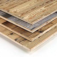 Immer dann, wenn es um einfache Verarbeitung geht und die Altholzoptik wichtiger ist als die Altholzsubstanz, sind unsere 3-Schicht-Platten mit einer Decklage aus altem Nadelholz die richtige Wahl. Unsere 3-Schicht-Platten mit einer Deckschicht aus Altholz verhalten sich beim Verarbeiten genau gleich wie andere 3-Schicht-Produkte.