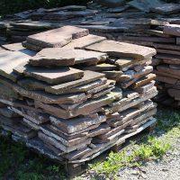 Polygonale Sandsteinplatten für 25,- €/qm