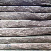 Bodenplatten aus Solling-Sandstein als Formatware