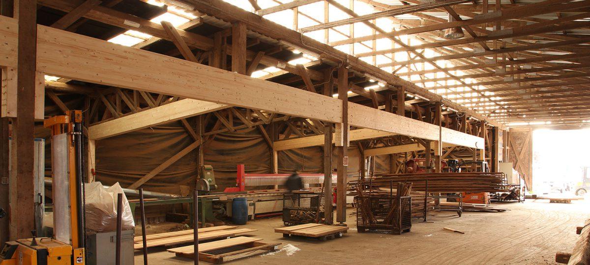 Umbau Fertigungshalle, Umstellung auf Vorratsproduktion