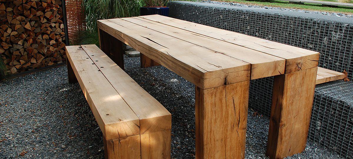 Markante Möbel für den Außenbereich