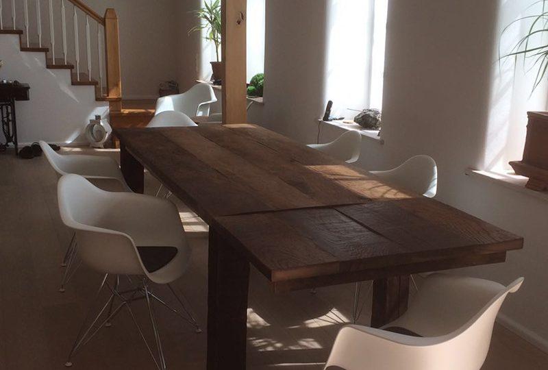 Tischplatte mit originaler Oberfläche
