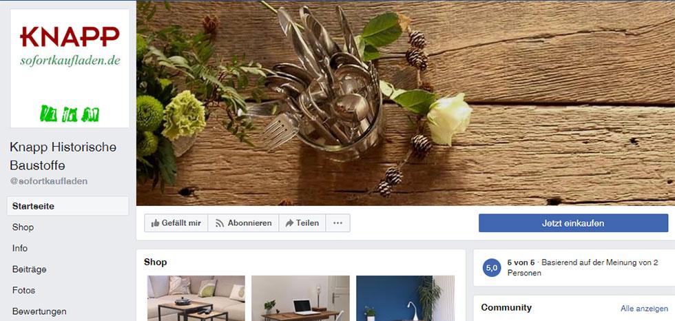 Unser Facebook-Account für Zwischendurch