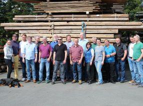 Kollegentreffen vom »Unternehmerverband Historische Baustoffe e.V.«
