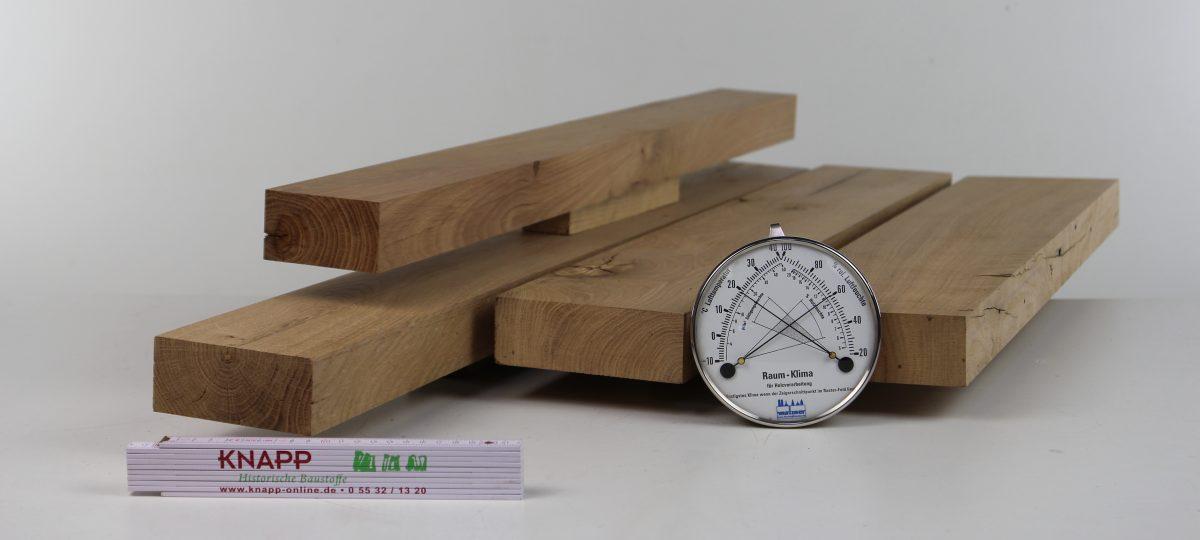 Gehobelte Bretter und Bohlen – auf Maß gefertigt, technisch getrocknet