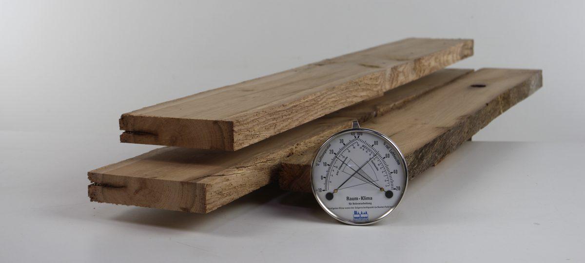 Gehobelte Bretter und Bohlen – gemischte Längen und Breiten, technisch getrocknet