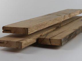 Gehobelte Bretter und Bohlen – gemischte Längen und Breiten, lufttrocken