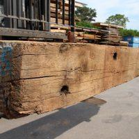 Alte »Kanalbalken« aus Eichenholz