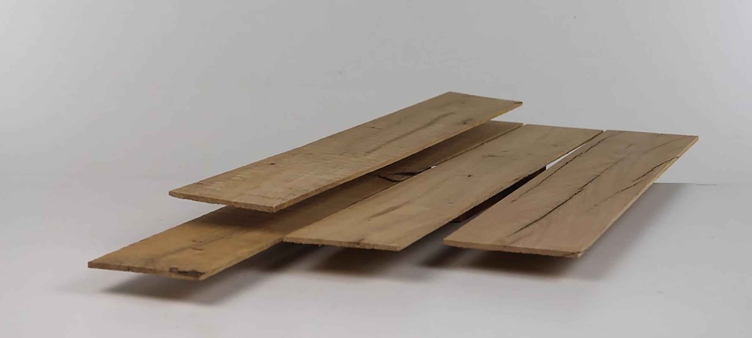 Sägefurnier aus altem Eichenholz