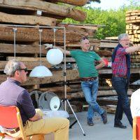 Versteigerung beim Treffen des »Unternehmerverband Historische Baustoffe e.V.«